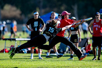Mixed pre-quarters at the USAU National Club Championships. October 25, 2019
