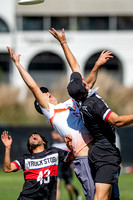 Open quarterfinals at the USAU National Club Championships. October 25, 2019