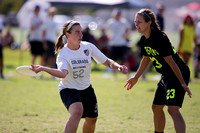 Women's Semifinal - Brute Squad vs Molly Brown - 2015 USAU National Championships