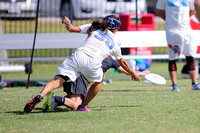 Friday - Mixed Quarterfinals - 2015 USAU National Championships
