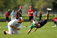 Saturday 8:30am round -- 2011 USAU College Championships