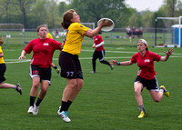 Action from the Women's Championship game at 2013 D-III Nationals