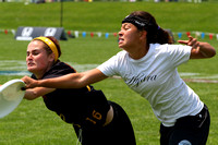 Saturday Women's division action from 2012 College Nationals
