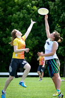 Round Two - Sat Girls - USAU 2013 HS Southerns