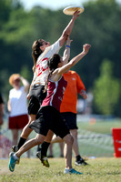 Action from USAU College Division 1 Nationals