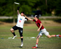 Friday Pool Play - 2016 USA Ultimate College Championships
