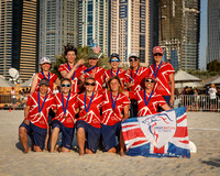 Great Britain Women's Masters Team Photo - 3rd Place - WCBU 2015
