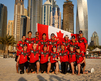 Canada Mixed Masters Team Photo - 2nd Place - WCBU 2015
