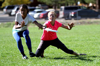 Finals Action at UltiFest 2014 held in Flagstaff, Arizona Oct