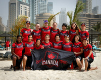 Canada Women's Team Photo - WCBU 2015