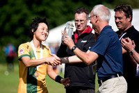 Women's Masters medal ceremony - WUGC 2016
