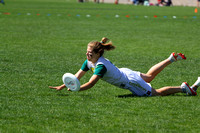 Sunday Women's Quarter-Final action from 2012 College Nationals