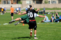 Friday 8:30am round -- 2011 USAU College Championships