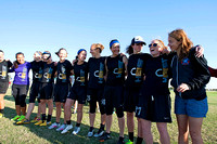 Saturday Placement - 2014 USAU National Championships