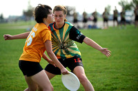 Sunday Women's Bracket Play - 2012 USAU D-III College Championships