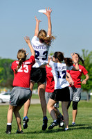 Saturday Women's Pool Play & Crossovers - 2012 USAU D-III College Championships
