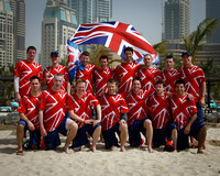 Great Britain Open Masters Team Photo - WCBU 2015