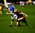 Funky Masters vs Primal - Pool A - Women Masters - WUCC 2014