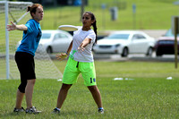 Sunday Girls Semis -- USAU 2012 HS Southerns