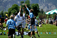 2012 USAU D-I College Championship Game Action