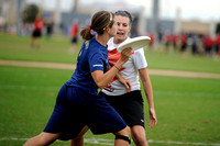 USA Ultimate Nationals Championships 2013 - Scandal vs Capitals Quarters game