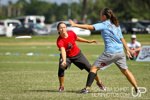 Sunday Women's Finals -- 2012 Club Championships