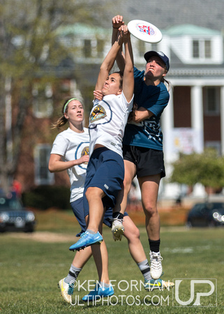 Colonial Women's D1 Championships, Day 1 : April 16, 2016