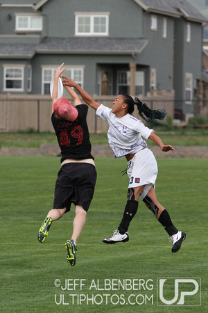Friday Women's division action from 2012 College Nationals