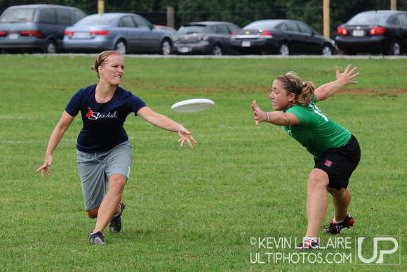 Saturday Women's Division Competition at Chesapeake Open 2009.
