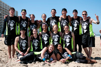 Point Break Team Photo - Mixed - USA Ultimate Beach Championships 2015
