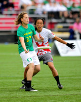 Women's Final - Stanford Superfly vs Oregon Fugue - 2015 USAU DI College Championships