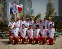 France Open Masters Team Photo - WCBU 2015