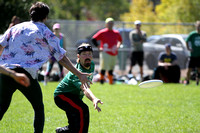 Semis Action at UltiFest 2014 held in Flagstaff, Arizona Oct 11-12