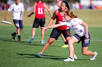 Saturday - Women's Placement - 2015 USAU National Championships