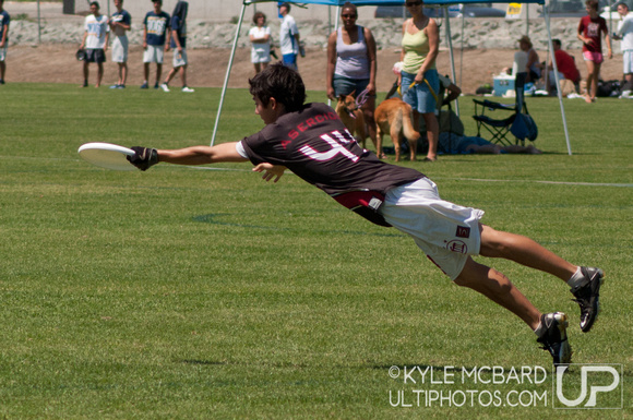 Sunday preview action from NorCal D-I Sectionals 2012