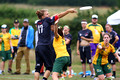Australia vs Canada - Australia vs Colombia - Pool Q Mixed - WU23 Ultimate Championships 2015