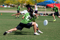 Sunday women's action from SW D-I Regionals 2012
