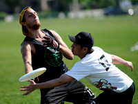 Saturday Open Pool Play & Crossovers - 2012 USAU D-III College Championships