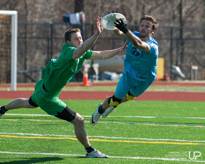 UltiPhotos: Highlights - New York Rumble at Boston Whitecaps 4/12/14 &emdash; Boston Whitecaps vs. NY Rumble
