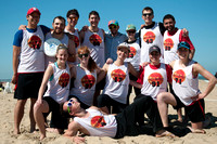 Hot Spot Team Photo - Mixed - USA Ultimate Beach Championships 2015