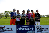 Awards Ceremony - 2014 USA Ultimate High School Central Championships