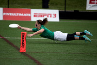 Oregon Fugue vs UBC Thunderbirds Women's Semi - USAU DI College