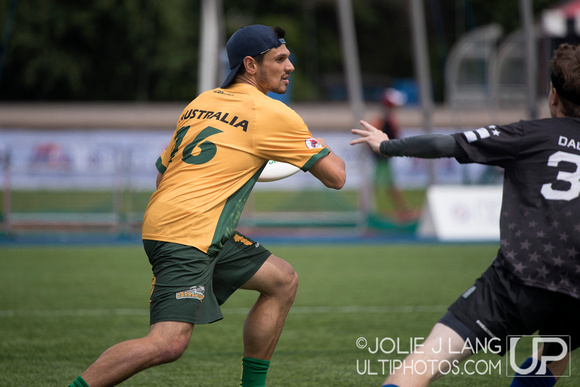 United States Mixed vs Australia Mixed Final - WUGC 2016